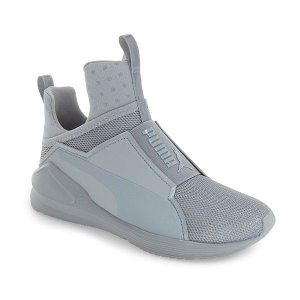 04dd0f5278e Womens Puma Fierce Shine High Top Sneaker ( 100) ❤ liked on Polyvore  featuring shoes