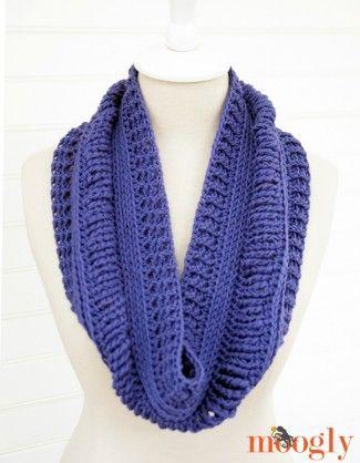 Free #Crochet Pattern: Ups and Downs Cowl! | bufandas | Pinterest ...