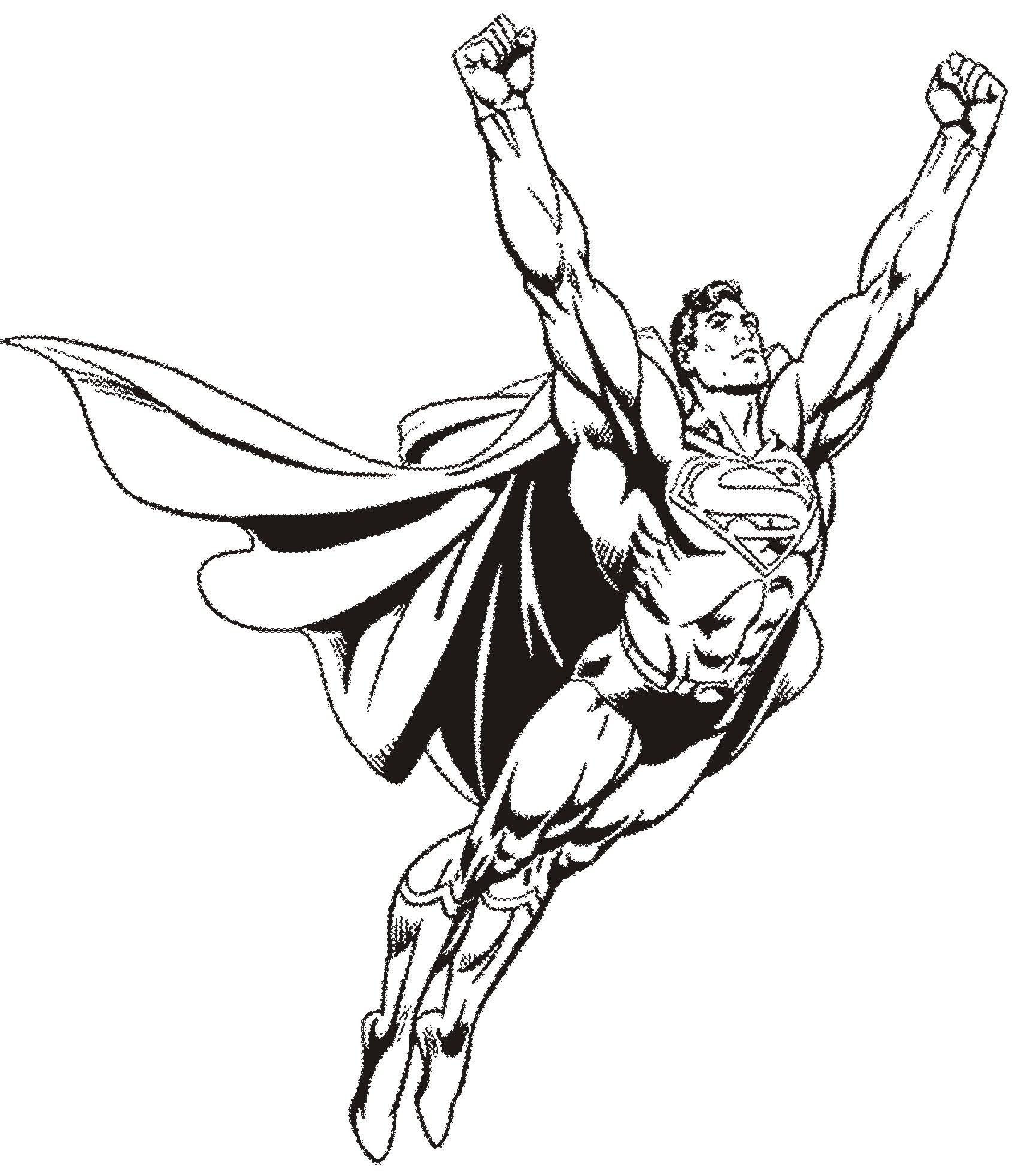 Superman s coloring pages - To Print Coloriage Superman 8 Click On The Printer Icon At