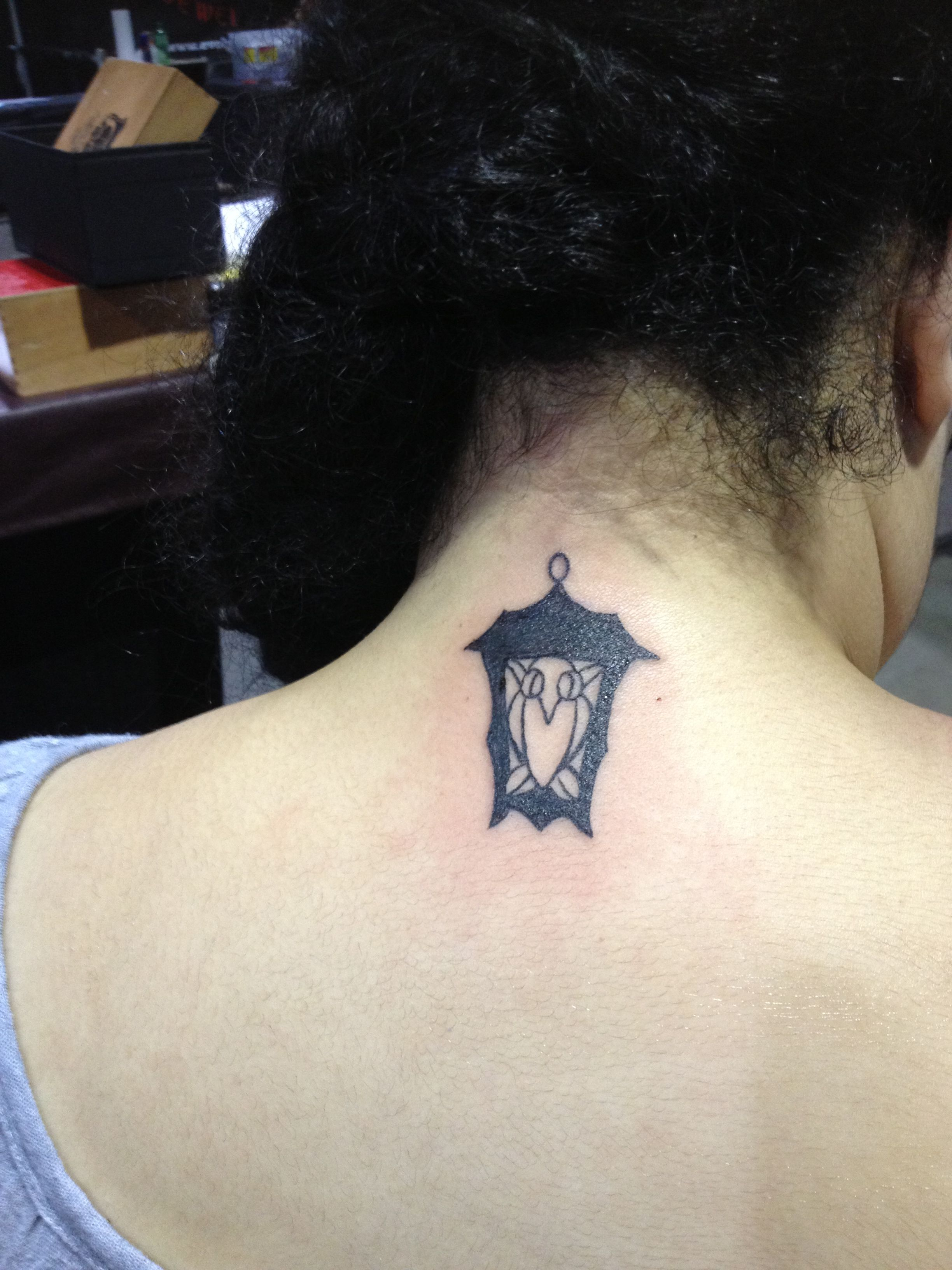 My bryn mawr lantern tattoo by renee little done at the