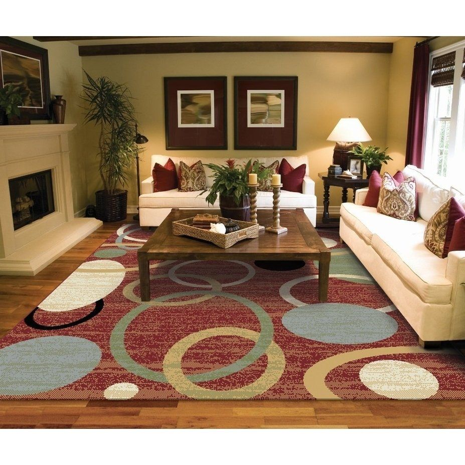 Copper Grove Parkano Red Circles And Rings Area Rug 2 X8 In 2019 Rugs Contemporary Area Rugs Clearance Area Rugs #rugs #for #living #room #8x10