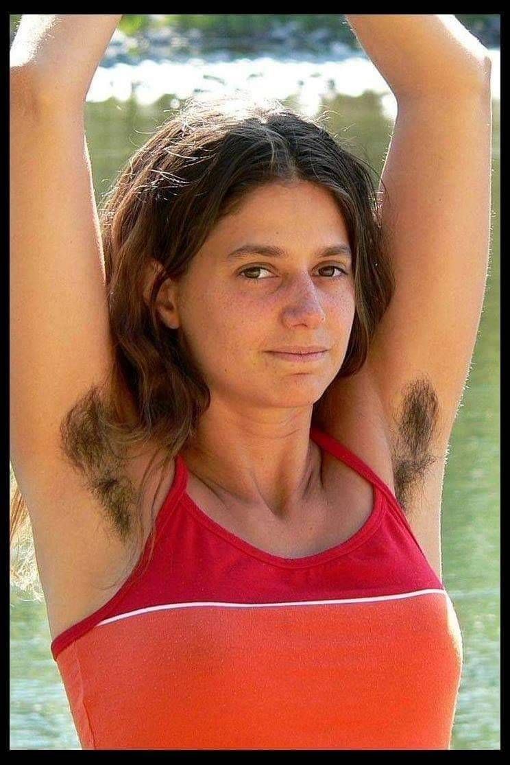 Women hairy armpits photos