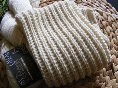 Easy Ribbed Scarf Pattern All Free Patterns Knitting Pinterest