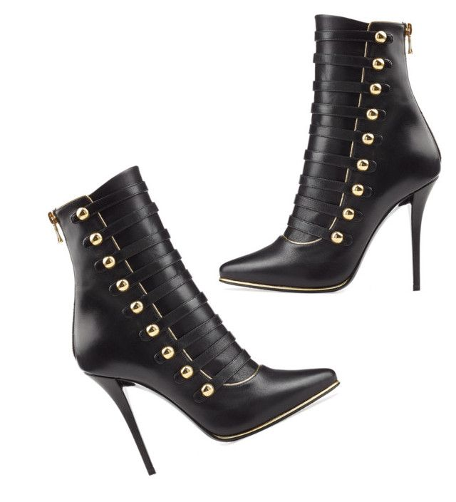 """""""Bootie for your weekend Boogie!  Can't ever go wrong with #balmain"""" by heelme on Polyvore featuring Balmain"""