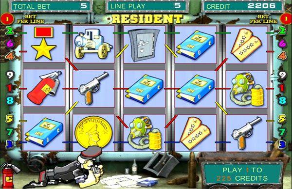 Играть в resident игровые автоматы демо игровые автоматы без регестрации
