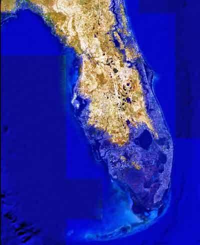 global warming impact on florida map