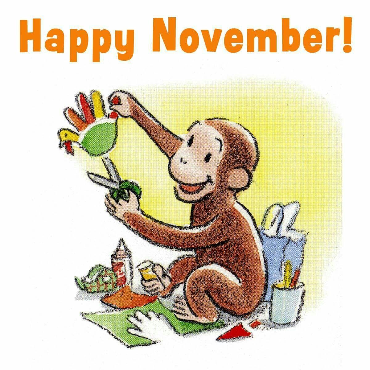 Happy November Cute Stuff