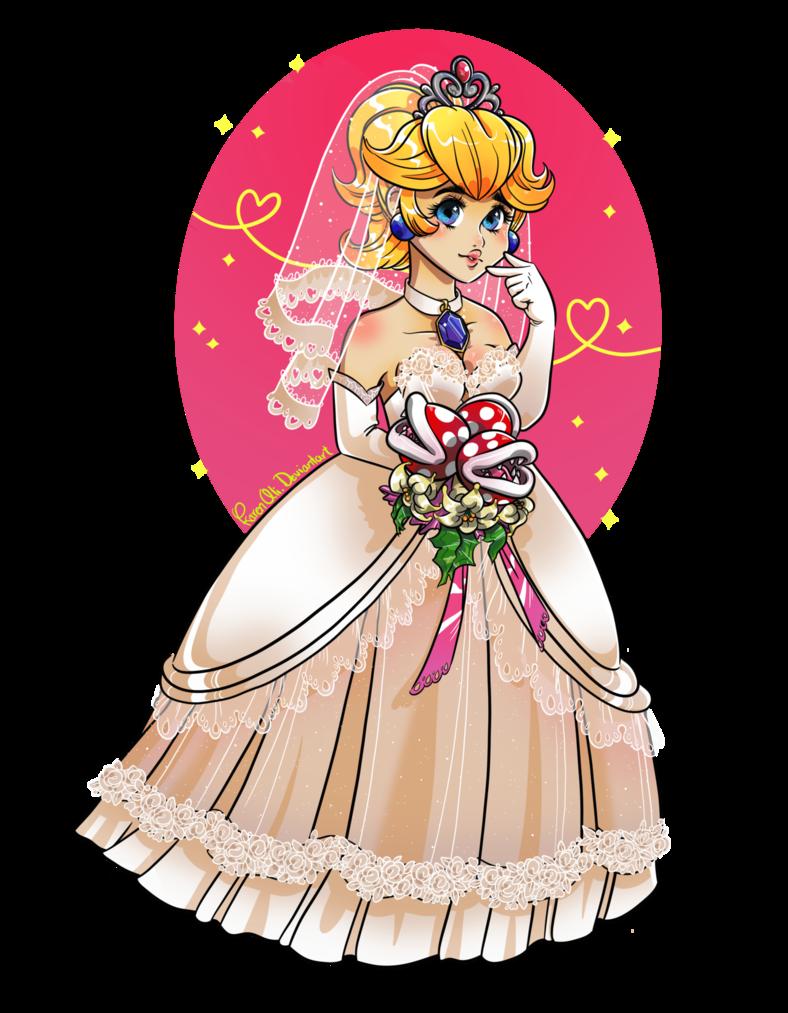 super mario odyssey princess peach wedding dress