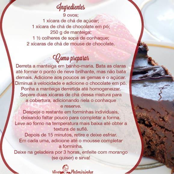 Torta de chocolate- MSN Estilo