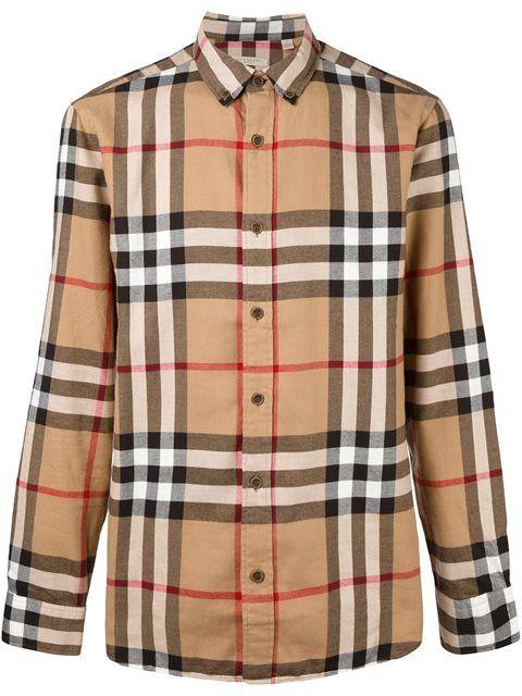392a3f83 BURBERRY House Check Shirt. #burberry #cloth #shirt | Burberry Men ...