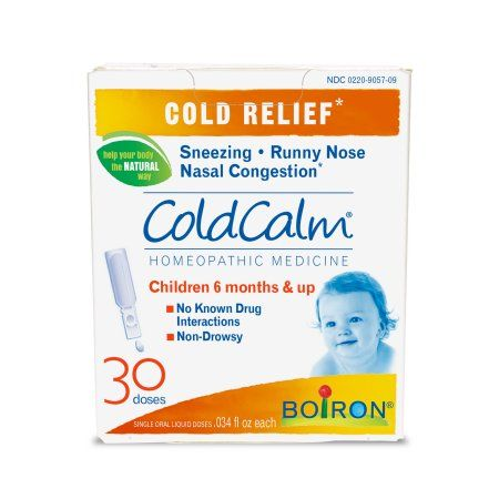 Boiron Coldcalm Baby Cold Relief Liquid Unit Does 30 Ct Walmart Com Cold Relief Infant Cold Relief Cold And Cough Remedies