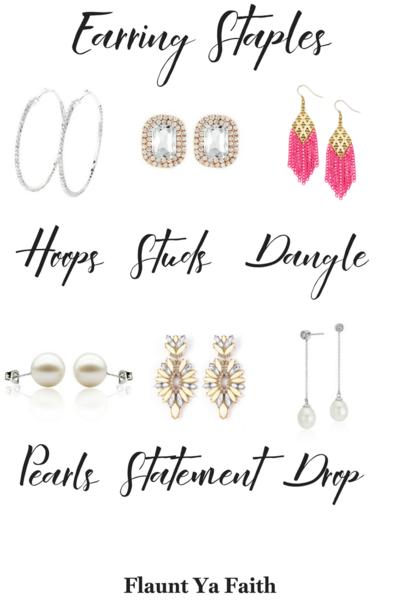 Earring Types Earrings Style Ideas Chart