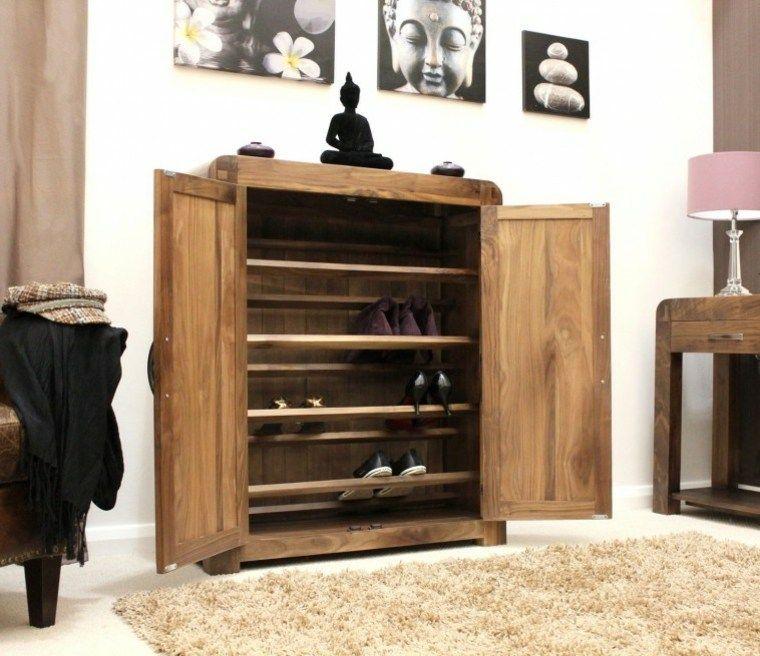Meuble Rangement Chaussures Bois Deco Mur Idee Shoe Storage Cupboard Cupboard Design Bedroom Cupboard Designs