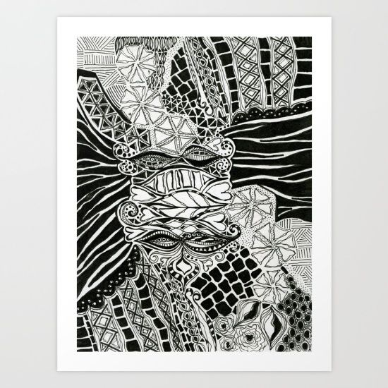 Love of Nature Doodles by Bestree Art Designs, $17.68. https://society6.com/product/love-of-nature-doodles-qxd_print#s6-4750781p4a1v45