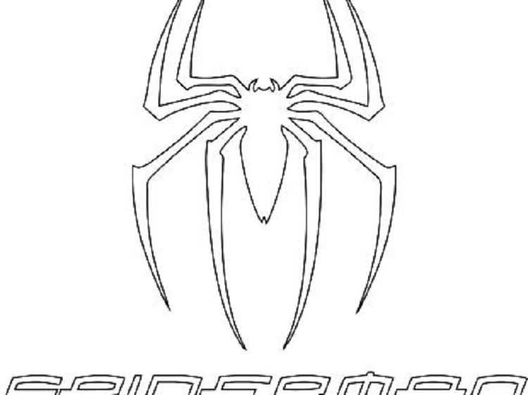 Spiderman Logo Coloring Page Superhero Coloring Pages Coloring Pages Santa Coloring Pages