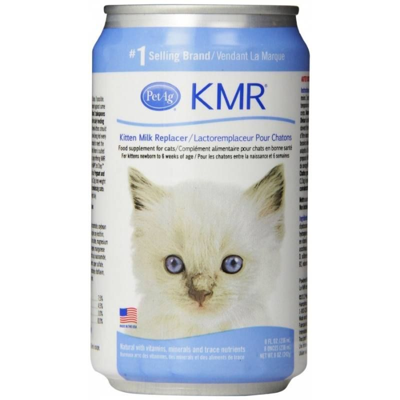 8oz Pet Ag Kmr Kitten Milk Replacer For Cats Is A Complete Food Source For Orphaned Or Rejected Kittens Or Those Nursing But Nee Cat Health Cats Best Cat Food