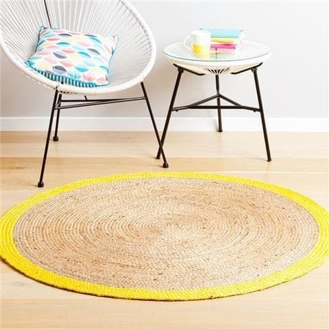 23 Clever Kmart Hacks That Ll Take Your Decor To The Next Level Kmart Hacks Decor Jute Round Rug