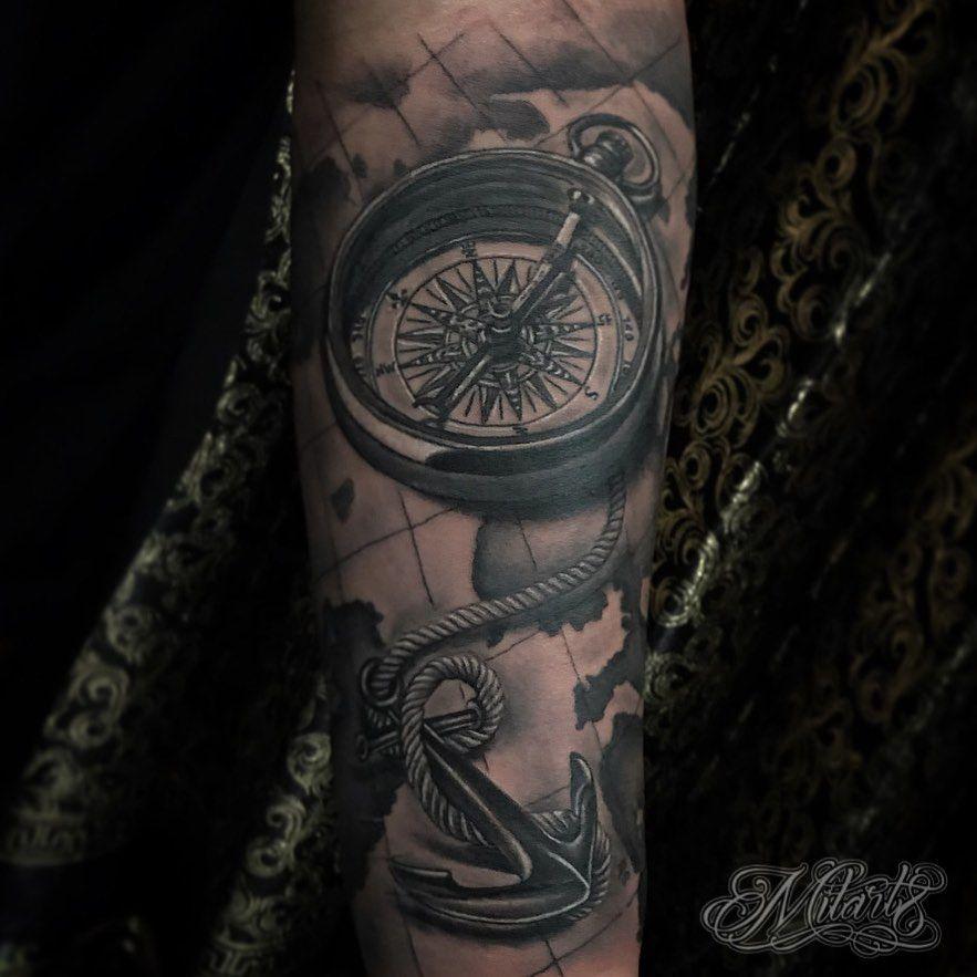 Compass and anchor🔥🔥🔥 For more booking and appoitment please DM me✅  #tattooinspiration#tatts#ink#blackandgrey#bnginksociety#tattoo#tattoos#tagforlike#tattoofamous#realistictattoo#compas#inkedmag#tattooistartmag#inkfreakz#inkjunkeyz#balikpapan#lifewithtattoo#compastattoo#inked#tattooed#blackandgreytattoos#balikpapantattoo#life_with_tattoo#tattoosinlimites#supportgoodtattoing#tattoostagram#tattoolife#tattoobalikpapan#art8project