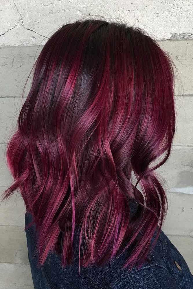 Best 37 Flirty Burgundy Hair Ideas Haircolor Hair Wine 400 x 300
