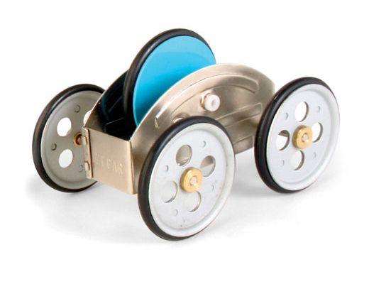Kikkerland Design Inc » Products » Zecar Flywheel Car