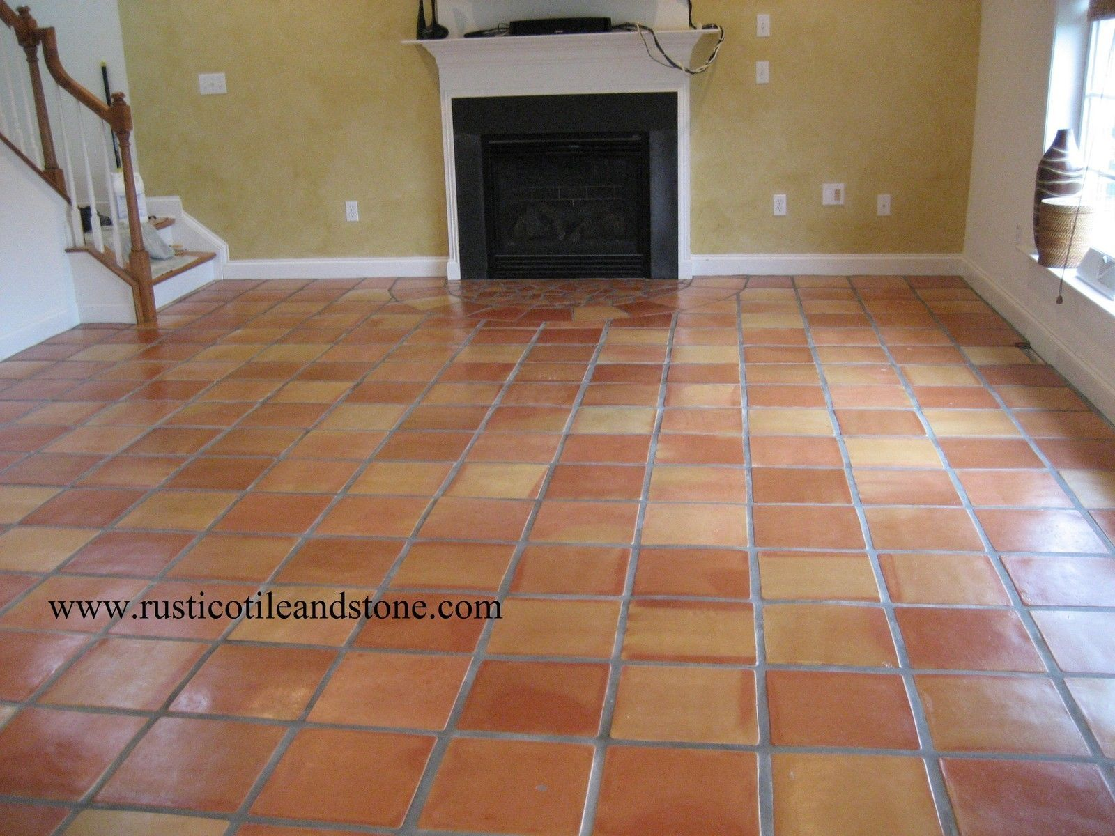 Mission red terracotta floor tile httpnextsoft21 tile flooring dailygadgetfo Image collections