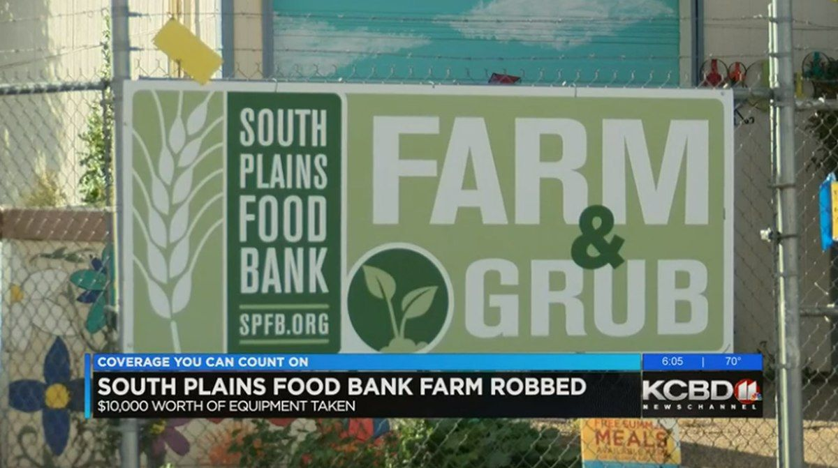 Food bank asking for help after breakin food bank