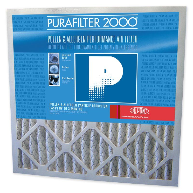 Purafilter Blue Allergen Air Filter 4 Pack 125250107