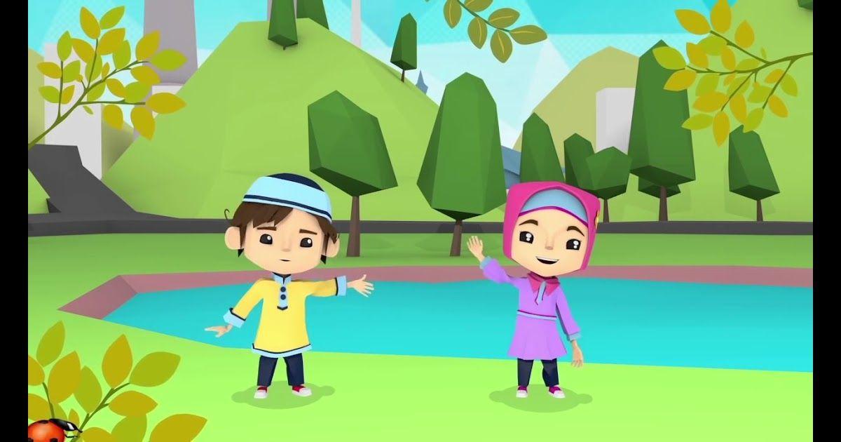 30 Gambar Kartun Anak Kecil Mengaji Di 2020 Kartun Gambar
