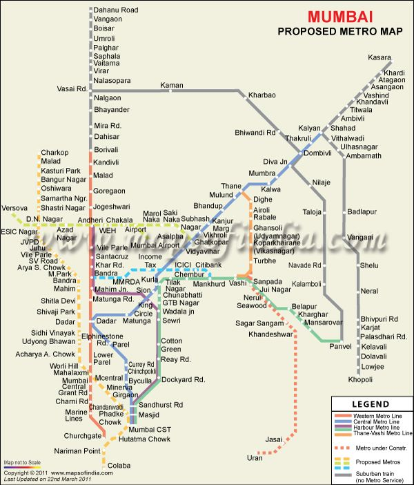mumbai tourist places map pdf