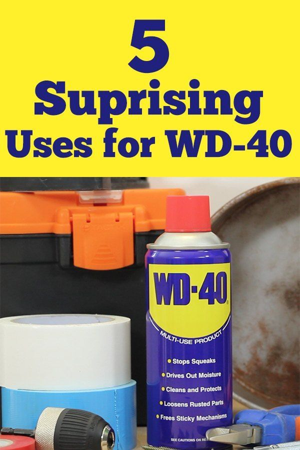 5 Surprise Uses For Wd 40 Wd 40 Mason Jar Diy Wd 40 Uses