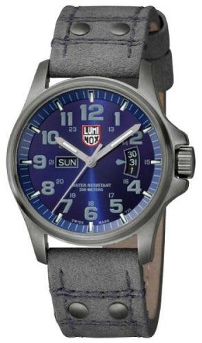 Luminox Men's 1823 Stainless-Steel Plated Analog Stainless-Steel Bezel Watch Luminox. $409.93. Scratch resistant mineral. Stainless steel case. Quartz movement. Water-resistant to 660 feet (200 M). Case diameter: 42 mm