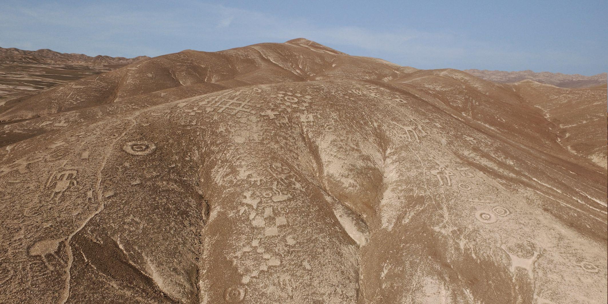Lineas de Nazca vs lineas de Palpa + yapa