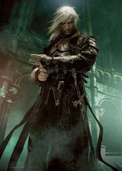 The Original And Masterfully Done Portrait Of Sorin Markov Vampiric Defender Of Innistrad Elfenkrieger Charakter Kunst Vampir