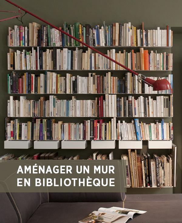 Mur Bibliotheque Nos Idees Rangement Livres Design Bibliotheque De La Maison Deco Bibliotheque Etagere Livres