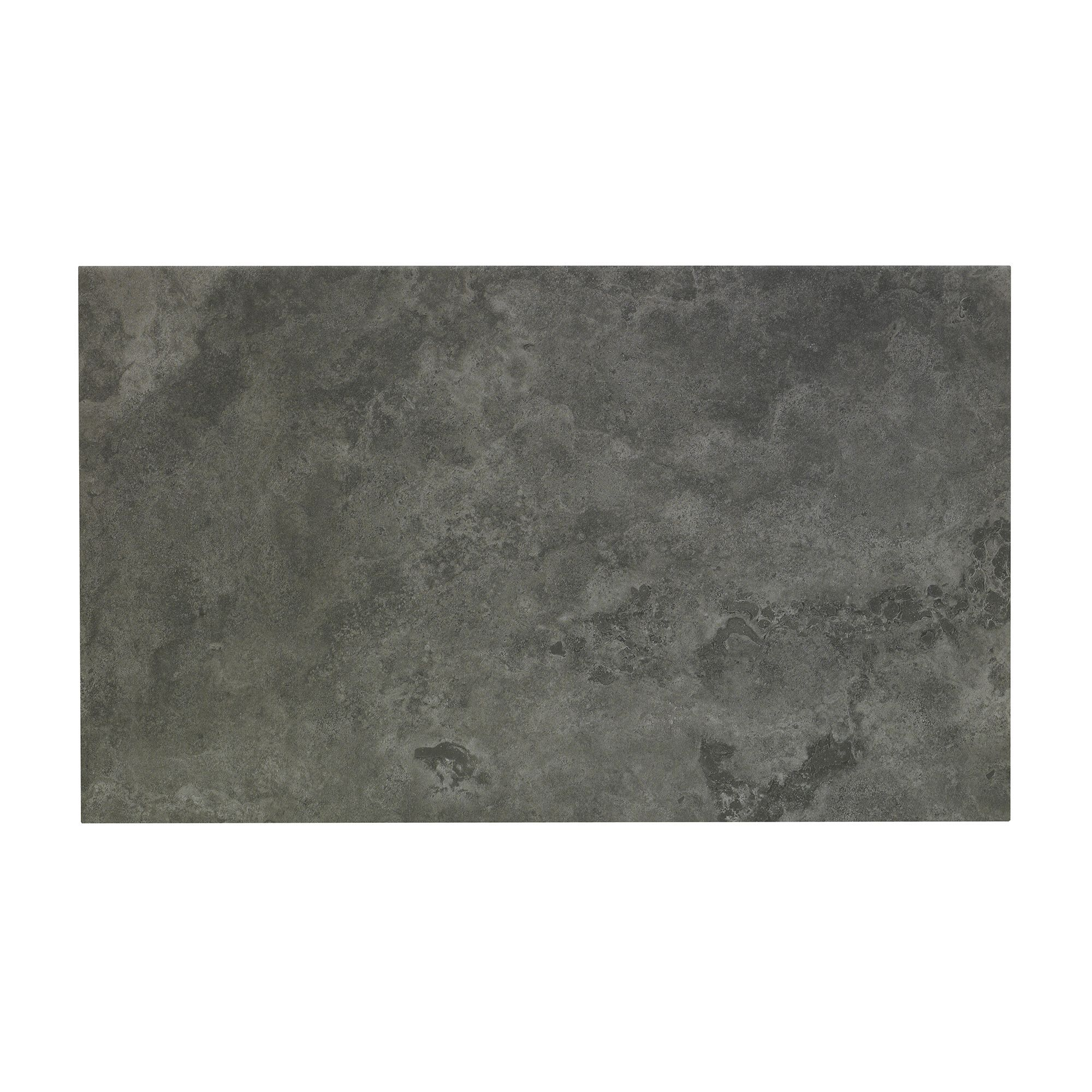 Oscano Graphite Stone effect Ceramic Wall floor tile Pack of 6