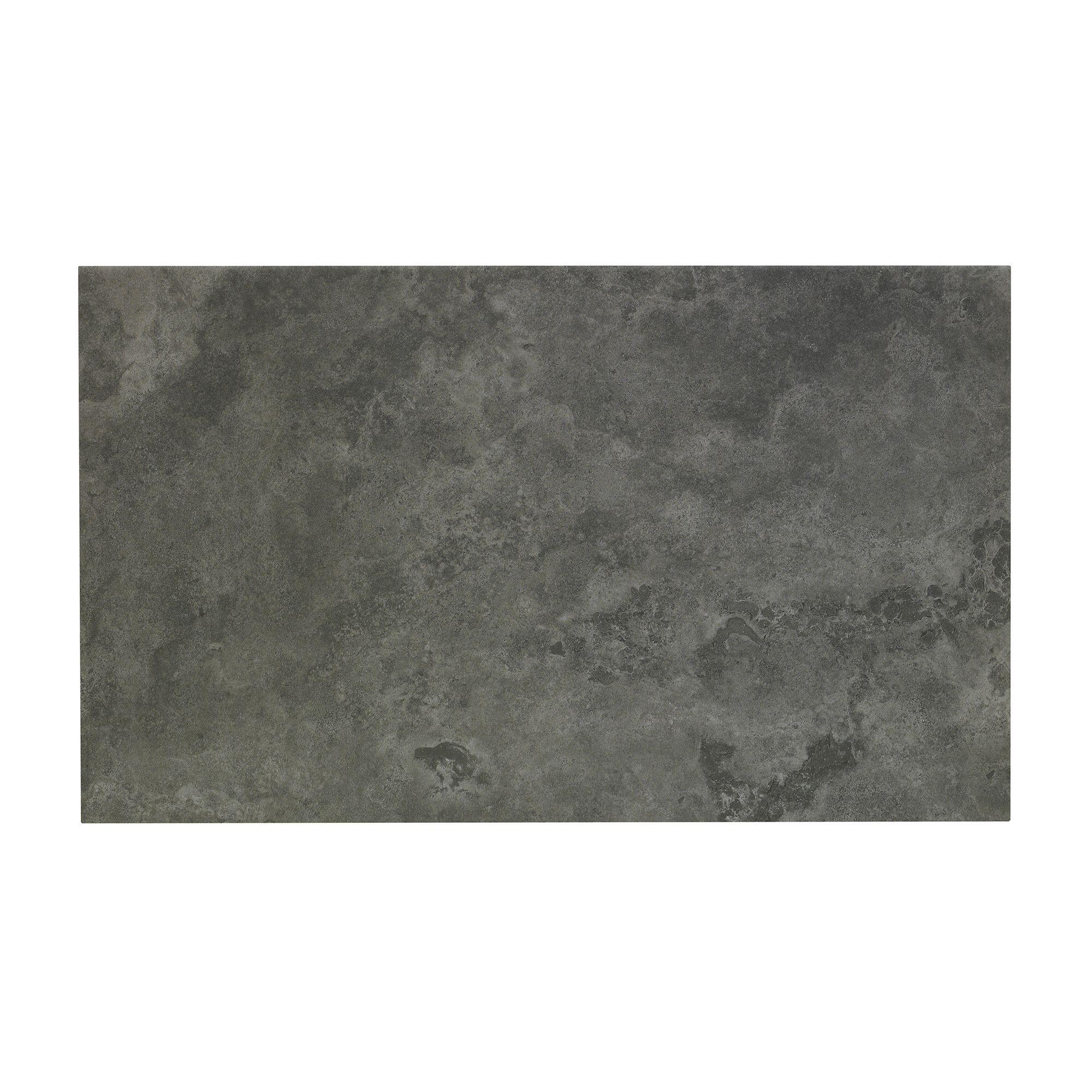 Oscano Graphite Stone Effect Ceramic Wall & Floor Tile ...
