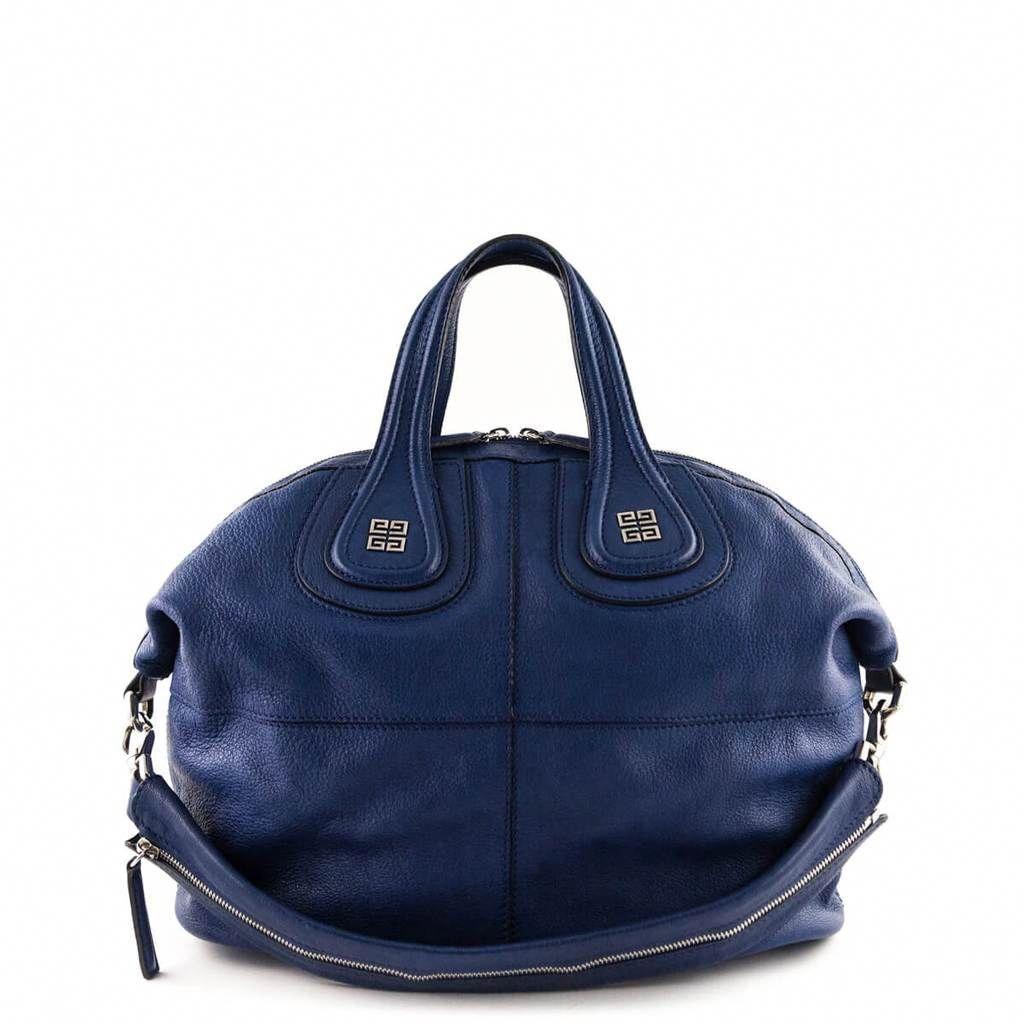 1527433e9929 Givenchy Blue Goatskin Medium Nightingale - LOVE that BAG - Preowned  Authentic Designer Handbags -  1500 CAD  Designerhandbags