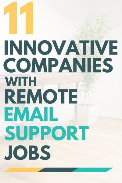 Email Support Jobs At 11 Innovative Companies Legitimate Work
