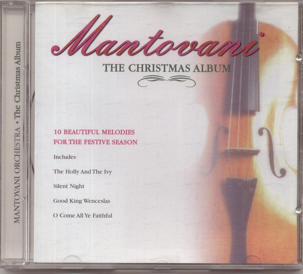 Mantovani: the christmas album - cd: beautiful melodies for the ...