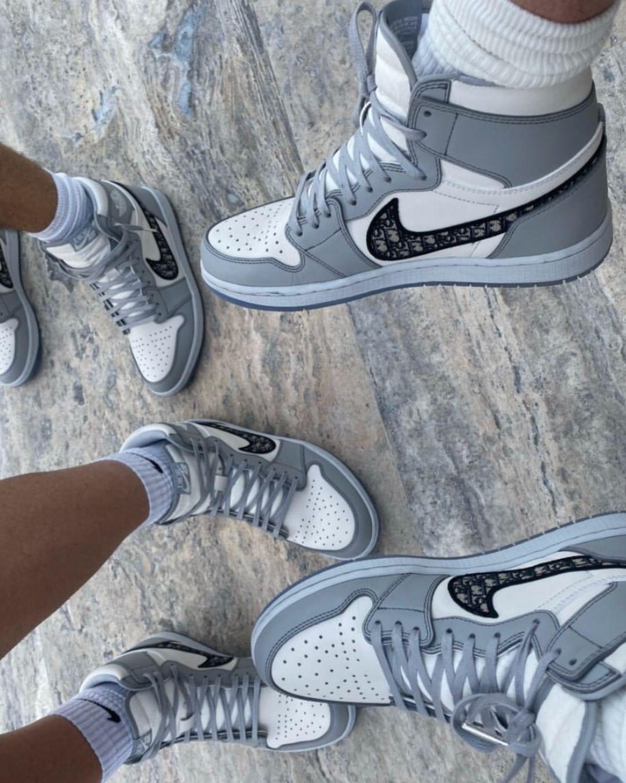 Nike x Dior in 2020 | Jordan shoes girls, Hype shoes, Nike ...