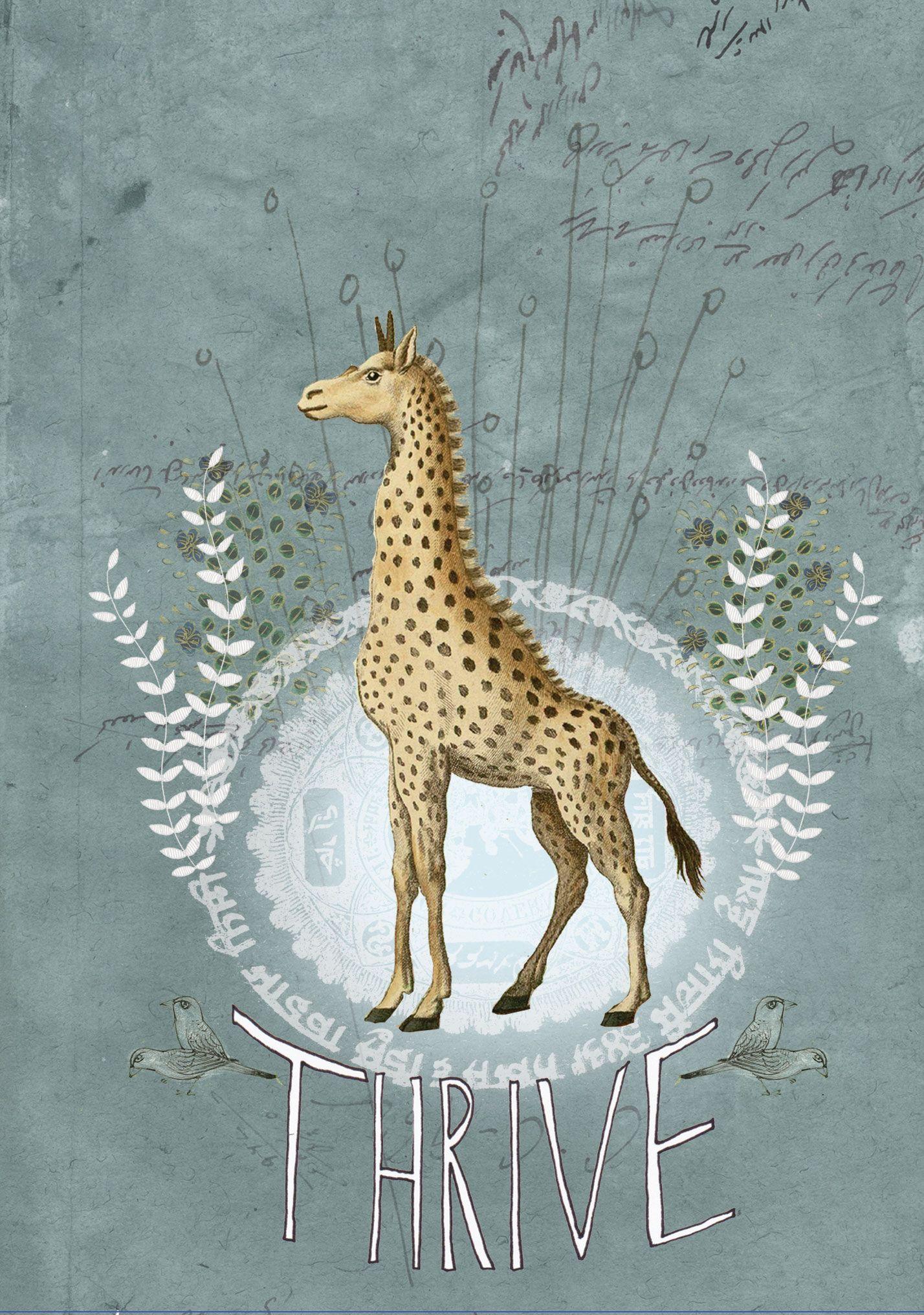 Papaya Thrive Papaya Art Art Giraffe