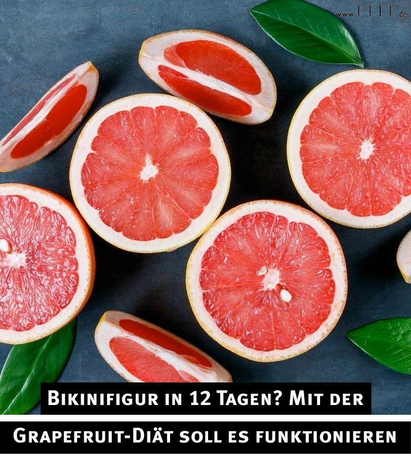Wie man Grapefruit isst, um Gewicht zu verlieren