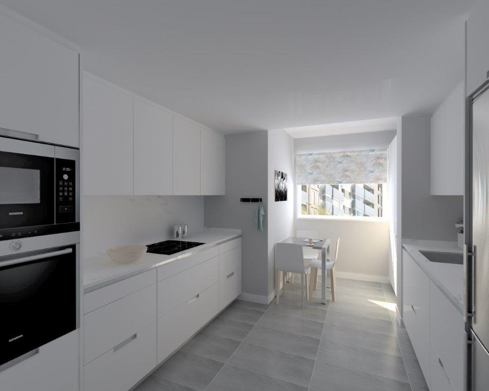 Cocinas santos modelo minos laminado seda blanco encimera - Encimeras para cocinas ...