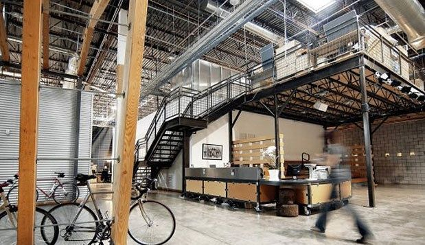 Converted Warehouse Office Space | Warehouse office ...