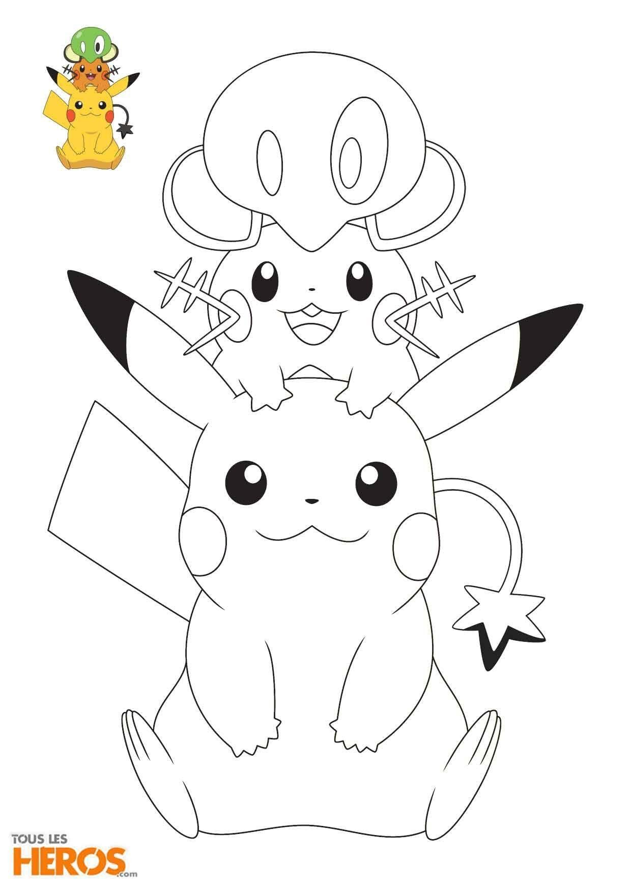 10 Coloriage Pokemon Marisson A Imprimer Pokemon Coloring Pages Paw Patrol Coloring Pages Cute Coloring Pages