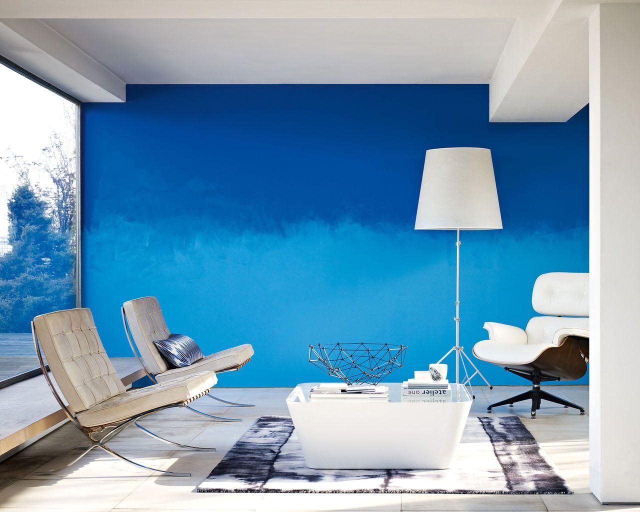 Comment Faire Un D Grad En Peinture Nuances De Bleu Bleu Clair