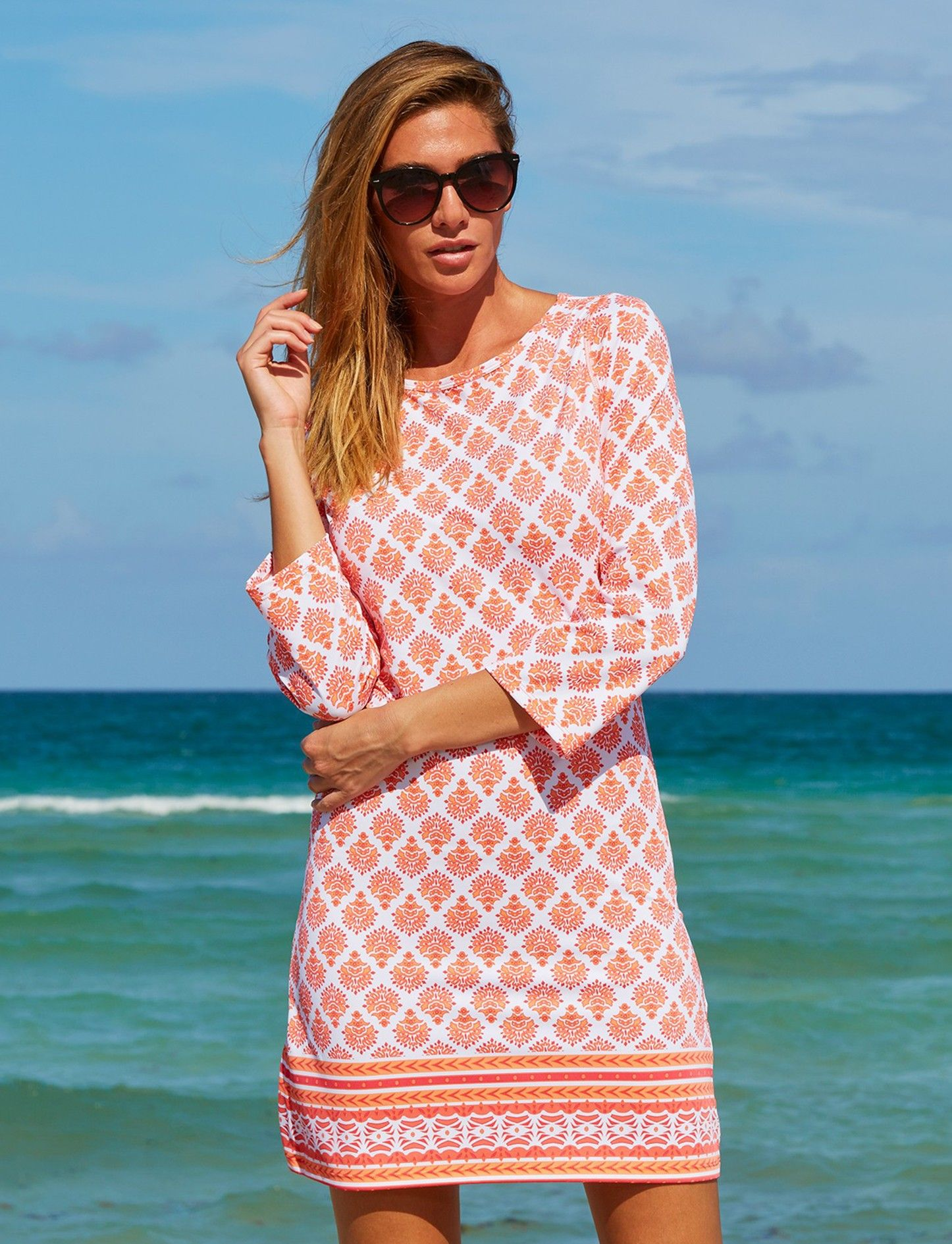 Cabana Life 50 Upf Sun Protective Clothing Pretty Dresses Casual Fashion For Women Over 40 Sundresses Women [ 1890 x 1446 Pixel ]