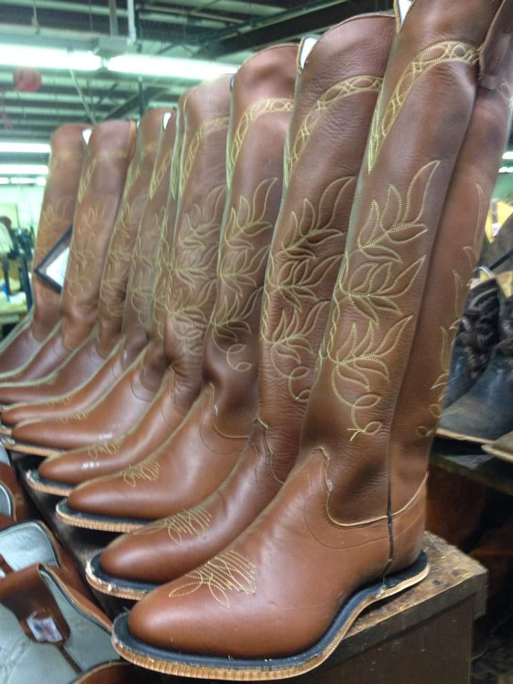 3de6910da33 Another solid run of Texas Polo boots in production for the Tackeria ...