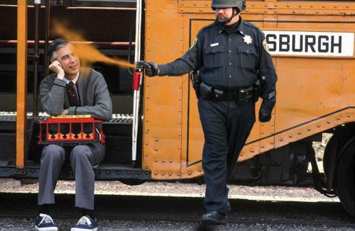 Mr Rogers Spicy Neighborhood Stuffed Peppers Pepper Spray Cop