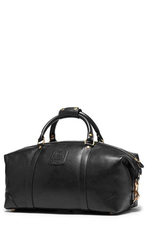 Ghurka Cavalier III Leather Duffel Bag